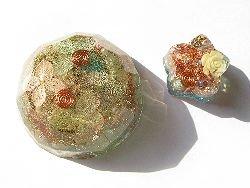 画像1: オルゴナイト Jewel*あじさい&星のオルゴナイト